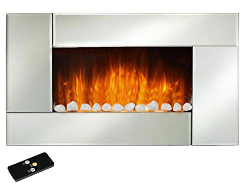 elektro wandkamin noblesse 1000w 2000w mit. Black Bedroom Furniture Sets. Home Design Ideas