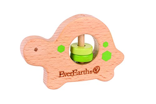 EverEarth Wooden Turtle Grasping Toy EE33576