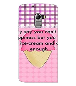 PrintDhaba Quote D-4217 Back Case Cover for LENOVO VIBE K4 NOTE (Multi-Coloured)