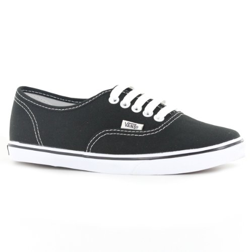Vans Classic Authentic lo Pro Black White Womens Trainers Size 8.5 US (White Vans Classic Women compare prices)