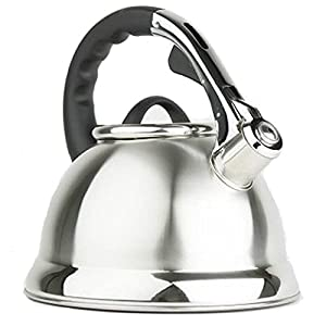 Best Premium Quality Stove Top Teapot Whistling 18 10 Stainless Steel Tea Kettle - Water... by Le Juvo