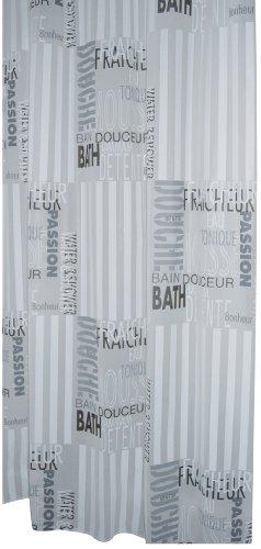Ridder 303120 Duschvorhang Folie 180 x 200 cm Font