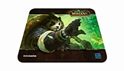 SteelSeries World of Warcraft QcK Gaming Mouse Pad - Panda Forest Edition