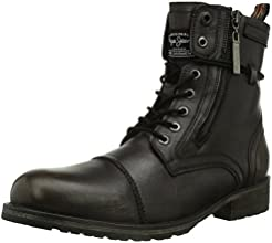 Pepe Jeans Mens Melting Zipper Heritage Boots