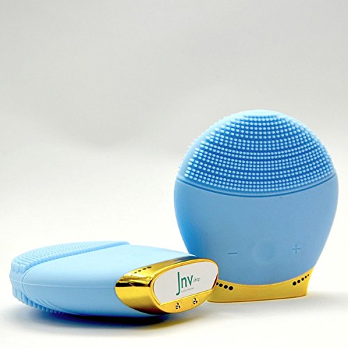ergonomic-silicone-face-vibrating-brush-cleanser-massager-usb-rechargeable-blue