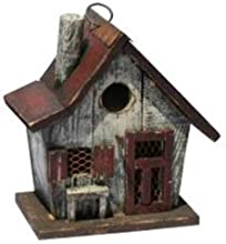 Garden Decoration HT10150C Birdhouse 10-Inch Cream