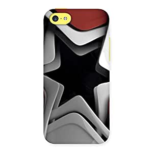 Stylish Techisa Multicolor Back Case Cover for iPhone 5C
