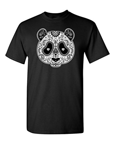 Day of Dead PANDA Skull T-shirt #17339 Day Of Dead Shirts