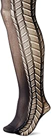 Betsey Johnson Womens Wide Chevron Tight 2-Pack