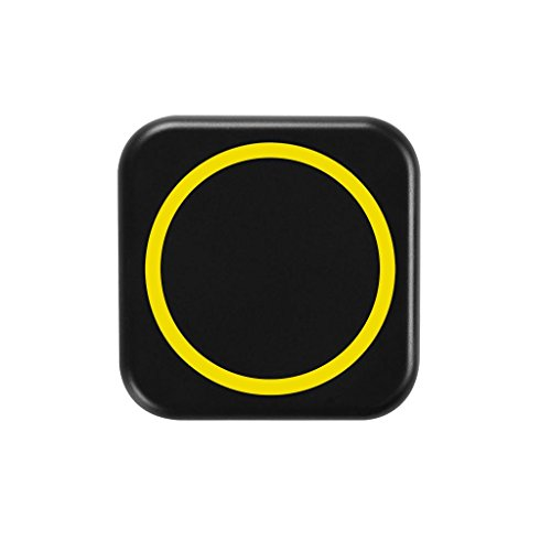 Wireless Charging Pad For Samsung Galaxy S5 ,Jokeret Portable Wireless Charger Power Bank With Receiver Black And Yellow