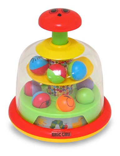 Kids Preferred Eric Carle Push And Spin Popper Toy front-919580