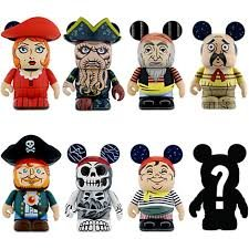 Pirates of the Caribbean Series 2 One Unopened Box Disney Vinylmation 3'' Figure CUTE - 1