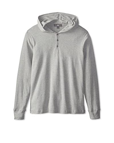 Alo Men's Long Sleeve Three Button Hoodie