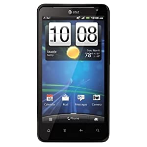 HTC Vivid 4G X710a 16GB AT&T 4G LTE Dual-Core Android Smartphone w/ 8MP Camera - Black