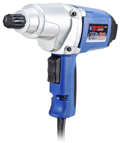 GM Performance Parts, 1/2 Inch Drive, Electric Impact Wrench (GM2813) (Goodwrench Tools compare prices)