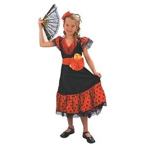 Shopzilla - Childs Flamenco Dancer Dress Costume Kids' Costumes
