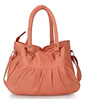 Typify Women's Handbag (Peach,Tbag67)