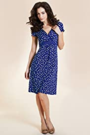 Per Una Cap Sleeve Two Tone Spotted Dress