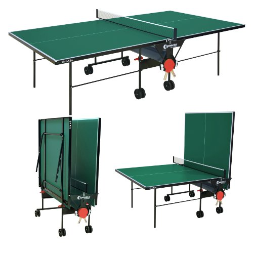 Premium Quality Sponeta Foldable Outdoor Table Tennis Table + Net, Bats, Balls 2 year warranty Made in Germany