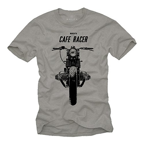 MAGLIETTA BOXER TWIN - T-shirt moto uomo - BMW Cafe Racer grigio S