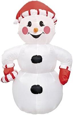 Aufblasbarer Schneemann 120cm für innen und außen von Sonstiges in [ProductCategories]