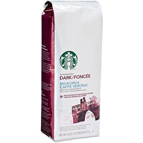 Starbucks Decaf Caffe Verona®, Whole Bean Coffee (1lb) (Whole Bean Coffee 1lb compare prices)