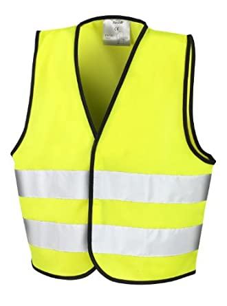 result r200j childrens fluorescent yellow safety