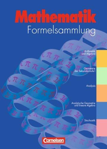 Buch Formelsammlungen Sekundarstufe I und II - Allgemeine Ausgabe ...