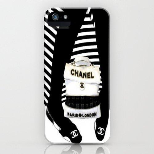 並行輸入品/society6/CHANEL/iPhone5,5sケース/海外限定デザイン