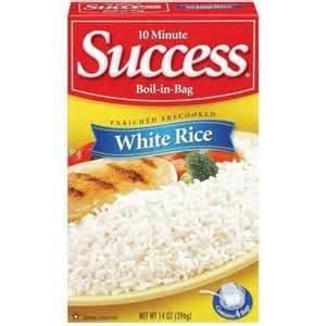 Amazon.com : SUCCESS RICE WHITE BOIL IN BAG 14 OZ : Dried