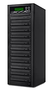DVD Duplicator Copypal Series - Standalone 1 to 11 Target Built-in 24x High Speed Sata DVD Copier Machine