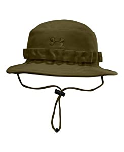 Men's UA Tactical Bucket Hat Headwear by Under Armour One Size Fits All Marine OD Green by Under Armour