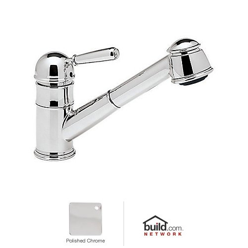 Rohl R77V3SAPC, Rohl Kitchen Faucets, Country Pull-Out Kitchen Faucet With - Polished Chrome
