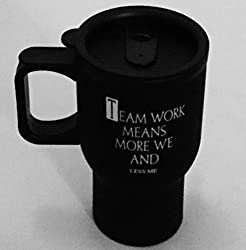 Metal Sipper-Team Work Means More WE and LESS me