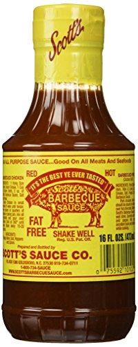 Scott's BBQ Sauce - Fat and Sugar Free, 16 fl oz