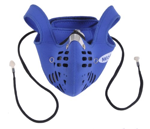 Neoprene Carbon Mask - Multi-Purpose Dust Mask with 1 Carbon Filter and 10 Ex...