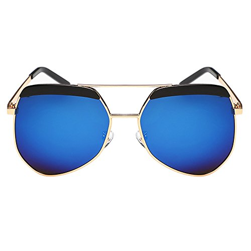 DAWAY DW-SG14 Women's Upscale TAC Polarized Color Film Lens Advanced PC Full Frame Eyewear Sunglasses UV400