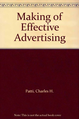 Making of Effective Advertising