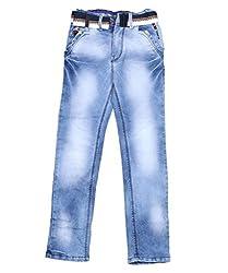 DUC Boy's Denim Light Blue Jeans (kd05-lb-34)