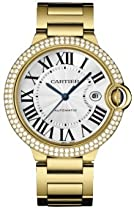 Luxury Watches - Cartier Ballon Blue Mens Gold Watch WE9007Z3 (NEW) :  cartier watch cartier watch gold cartier ballon watch cartier