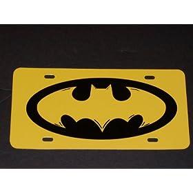 Batman License Vanity Plate #1