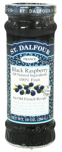St. Dalfour - Fruit Spread 100% Natural Jam Black