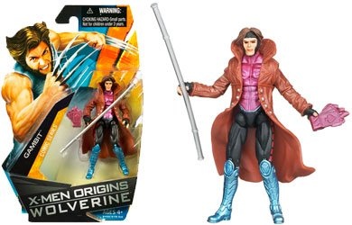 Picture of Hasbro XMen Origins Wolverine Comic Series 3 3/4 Inch Action Figure Gambit (B001SRACBG) (Hasbro Action Figures)