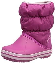 crocs 14613 Winter PF BT K Boot (Toddler/Little Kid),Fuchsia/Bubblegum,10 M US Toddler
