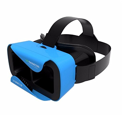 Lover VR BOX 3.0 Version VR Headset Virtual Reality Glasses with Adjustable for 3D Videos Movies Games