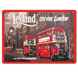 London Leyland Bus Fridge Magnet
