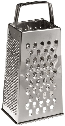 "Adcraft GS-25 9"" Height, Stainless Steel 4-Sided Grater"