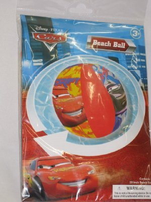 Cars Inflatable 20 Beach Ball - 1