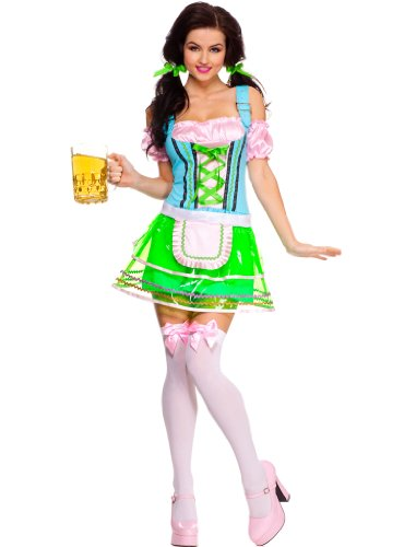 Celina Women's Beer Hall Babe Dress Costume Set (2 Piece)