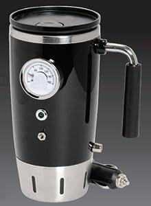 Gifts and Gadgets Online Retro Heated 12V Travel Mug Black at Sears.com